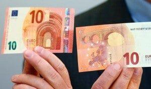 ЕЦБ вводит в оборот новую купюру 10 евро