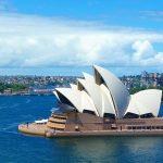 Австралия: Здание у моря