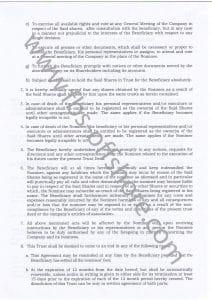 Трастовая декларация 3