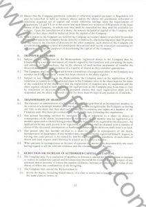 Учредительный договор и устав компании стр.12