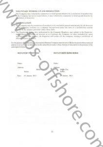 Учредительный договор и устав компании стр.22