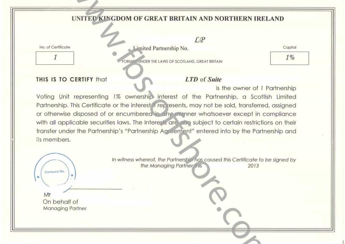 Сертификат капитала 1
