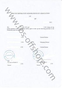 Предварительная регистрация учредительного договора
