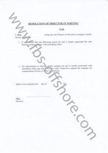 Решение о назначении директора