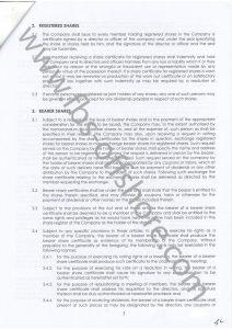 Устав компании стр.3